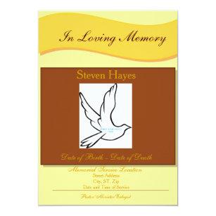 Funeral program invitations announcements zazzle in loving memory funeral invitationprogram card stopboris Images