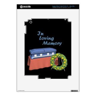 In Loving Memory iPad 3 Skins