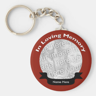 In Loving Memory Key Chain