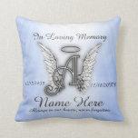 In Loving Memory Memorial Comfort Throw Pillow at Zazzle