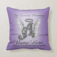 In Loving Memory Memorial Comfort Throw Pillow