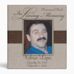 In Loving Memory Memorial / Guestbook Binders