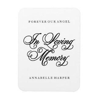In Loving Memory   Memorial Magnet