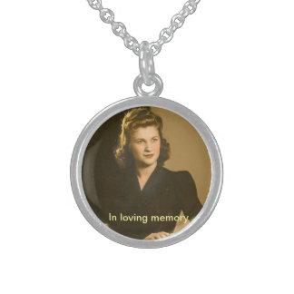 in loving memory necklace