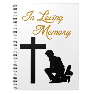 IN LOVING MEMORY NOTE BOOKS
