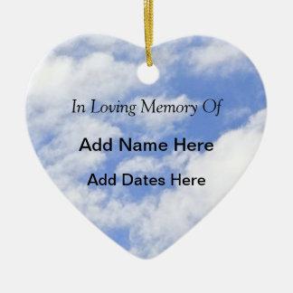 In Loving Memory Of Ceramic Ornament