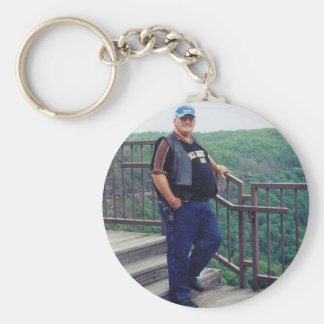 In Loving Memory Of Dad Keychain