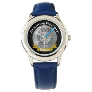 In Loving Memory Of  Photo Watch