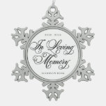In Loving Memory   Ornament Keepsake