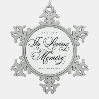 In Loving Memory | Ornament Keepsake