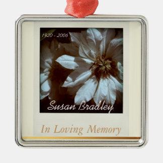 In Loving Memory Personalized Memorial Ornament 3