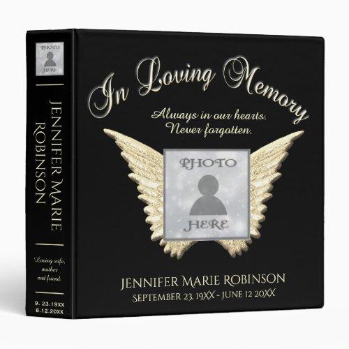 In Loving Memory Photo Memorial Binder
