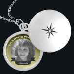 """In Loving Memory Photo Necklace<br><div class=""""desc"""">Just add your picture and name. click &quot;Customize it&quot; for more options,  colors ,  fonts.</div>"""
