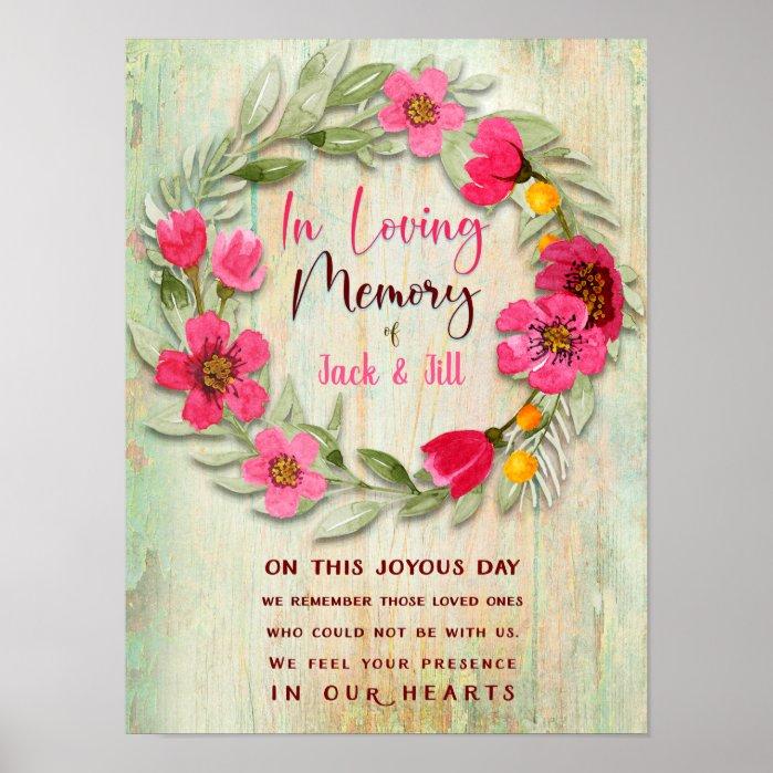 Happy Floral Chalkboard Tea Party Invitation Cards by Webgrrl
