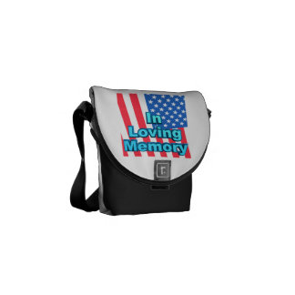 In Loving Memory.png Courier Bag