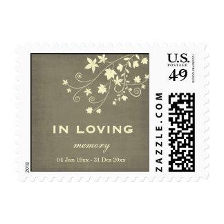 In Loving Memory Postage