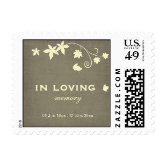In Loving Memory Postage Stamp