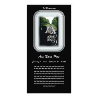 In Loving Memory- Railroad Conductor Card