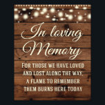 "In Loving Memory Sign, Wedding Decor, Wedding Sign<br><div class=""desc"">Great Rustic wedding sign for your special day!</div>"