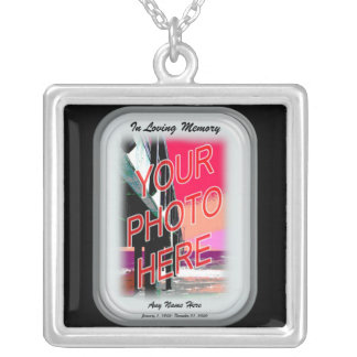In Loving Memory Silver Plated Necklace