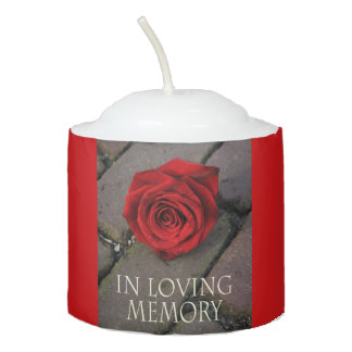 In Loving Memory Votive Candle