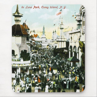In Luna Park, Coney Island, New York Mousepads