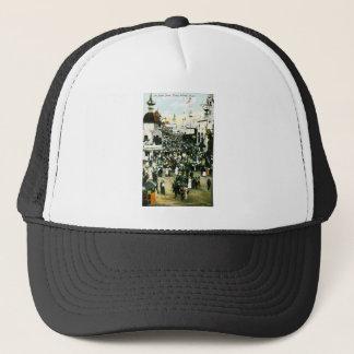 In Luna Park, Coney Island, New York Trucker Hat