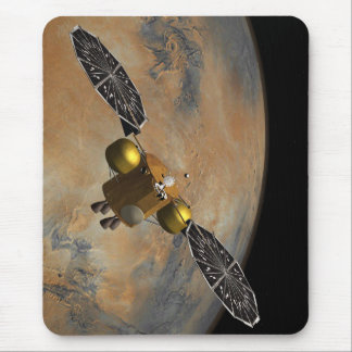 In Martian Orbit In Art Mouse Pad