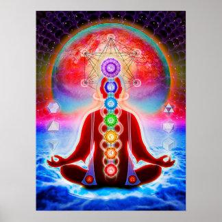In meditation poster