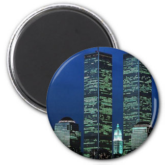 In Memoriam In memory of Twin Towers WTC NYC Fridge Magnets