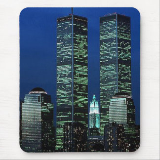 In Memoriam In memory of Twin Towers WTC NYC Mouse Pad
