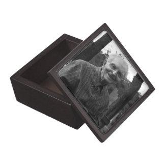In Memoriam Memorial Photo Keepsake Urn Box