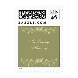 In Memoriam Postage Stamp