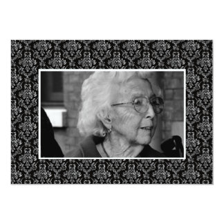 In Memoriam Remembrance Funeral Eulogy Photo Card