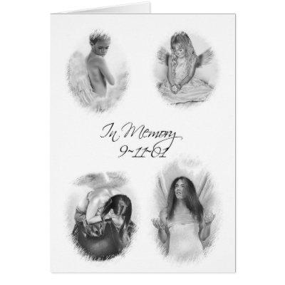 Angel drawings in tribute
