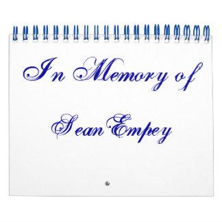In Memory of 7x11 Calendar
