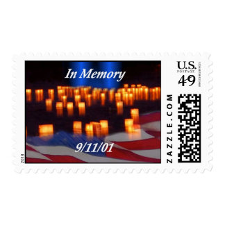 In Memory of 9/11! Stamp