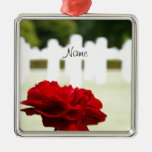In Memory of a Fallen Soldier Christmas Ornament