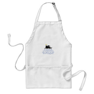 IN MEMORY OF ADULT APRON