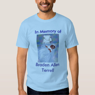 In Memory of Braden Allen Terrell T-Shirt