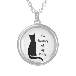 In Memory of Cat Necklace