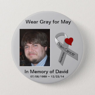 In Memory of David 2 Pinback Button