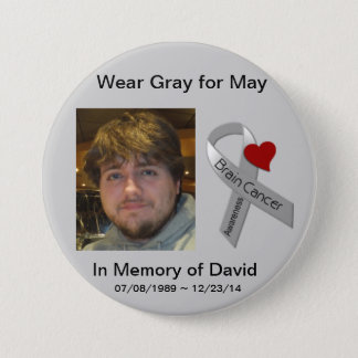 In Memory of David Pinback Button