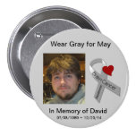In Memory of David Pinback Button