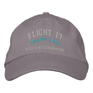 In Memory of Flight 19 Embroidered Baseball Cap