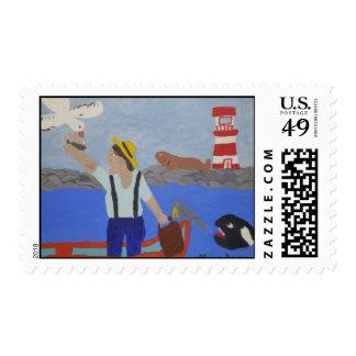 In Memory of Granddad Stamps