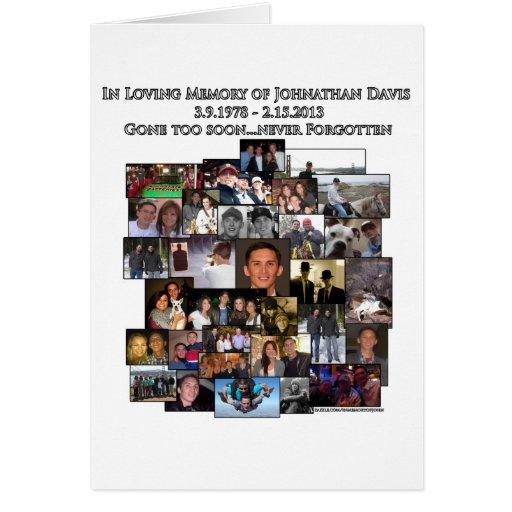 In Memory of Johnathan Card