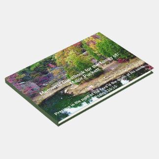 In Memory Of Memorial Funeral Guest Registry Guest Book