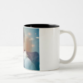 """In memory of Mike """"Pops"""" Hicks Two-Tone Coffee Mug"""