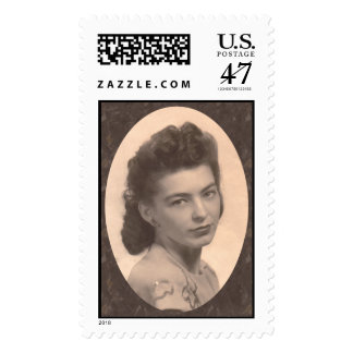 In Memory of Mother Postage